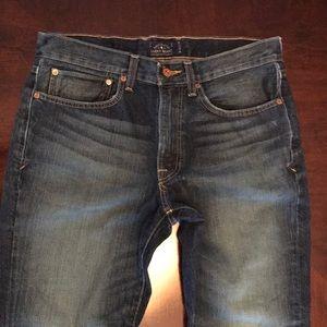 Jeans Lucky Brand 121 Heritage slim 32/32